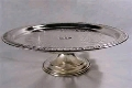 Where to rent CAKE STAND SILVER FOOTD in Denver NC