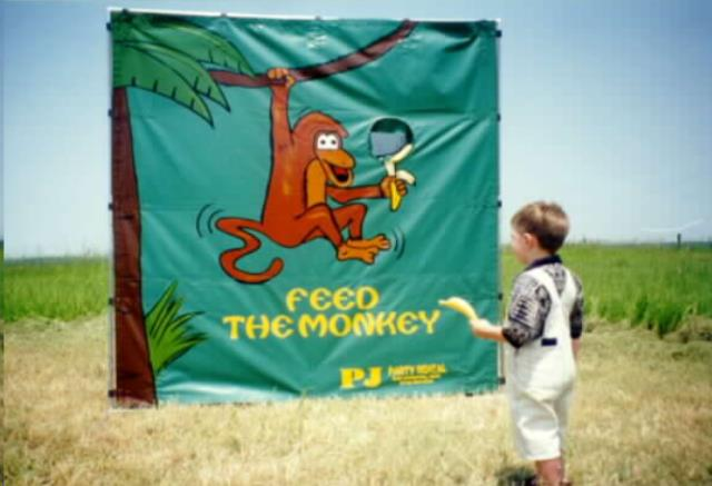 Where to find MONKEY TOSS GAME in Denver